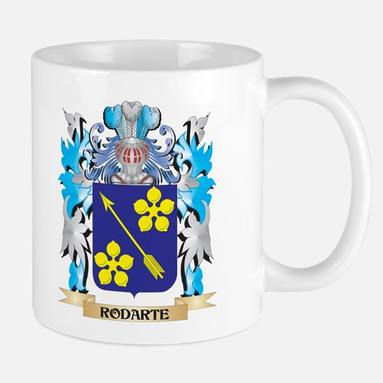 Rodarte Coat of Arms - Family Crest Mugs