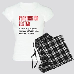 Penetration Tester: hard + Women's Light Pajamas