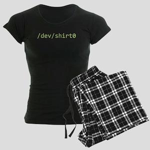 /dev/shirt0 Women's Dark Pajamas