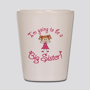 Im going to be a Big Sister! Shot Glass