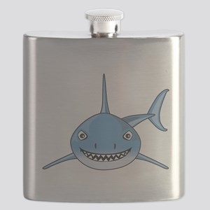 Blue Shark Flask