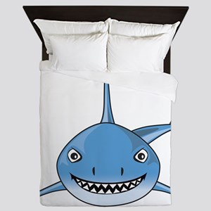 Blue Shark Queen Duvet