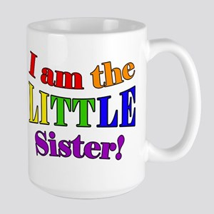 Little Sister Rainbow Mugs