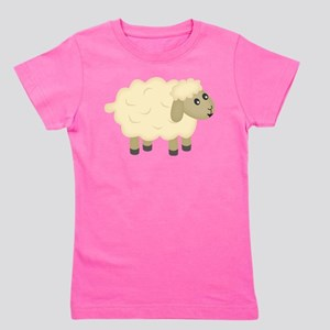 Sheep Girl's Tee