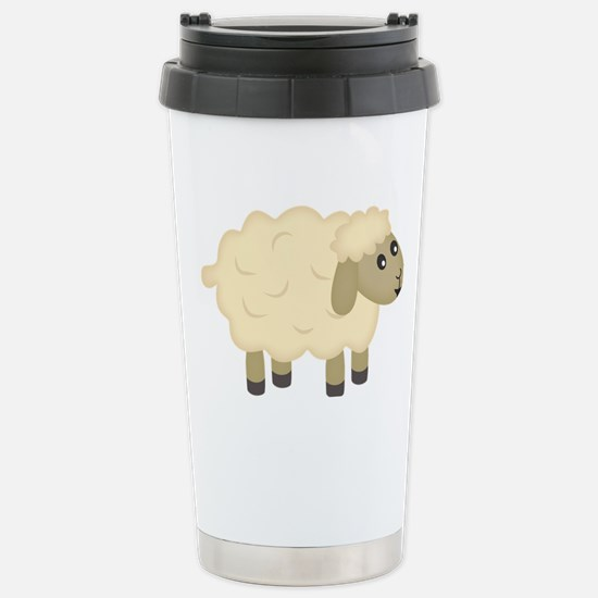 Sheep Stainless Steel Travel Mug