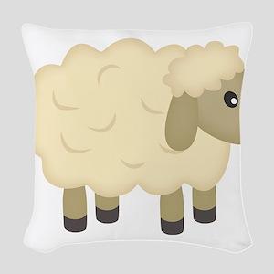 Sheep Woven Throw Pillow