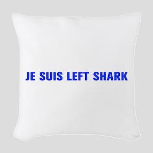 Je suis Left Shark-Akz blue 500 Woven Throw Pillow