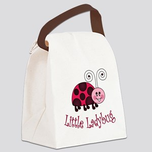 Little Ladybug Canvas Lunch Bag