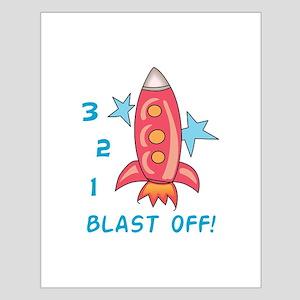 Blast Off! Posters