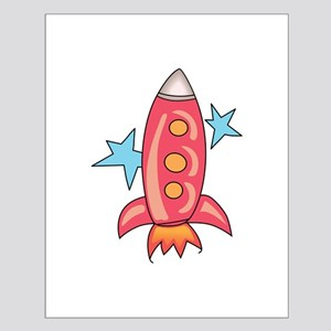 SPACE ROCKET Posters
