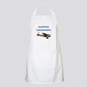To go up... BBQ Apron