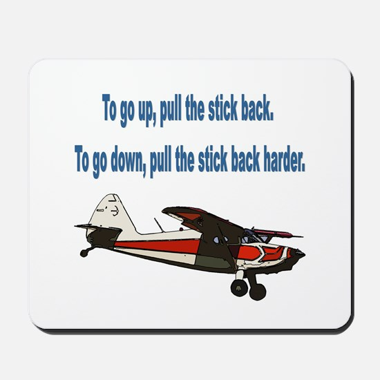 To go up... Mousepad