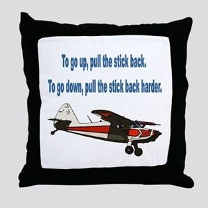 To go up... Throw Pillow