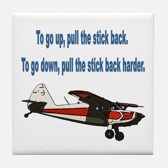 To go up... Tile Coaster