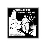 Desert Daze Reversed Sticker