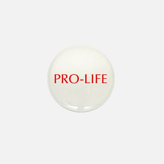 Pro Life-Opt red 550 Mini Button