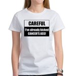 Kicked Cancer's Ass Women's T-Shirt