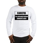 Kicked Cancer's Ass Long Sleeve T-Shirt