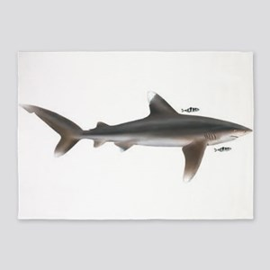 Whitetip shark 5'x7'Area Rug
