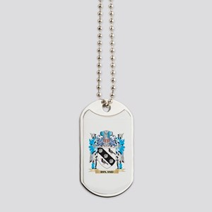 Roland Coat of Arms - Family Crest Dog Tags