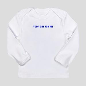 Yoda one for me-Akz blue 500 Long Sleeve T-Shirt