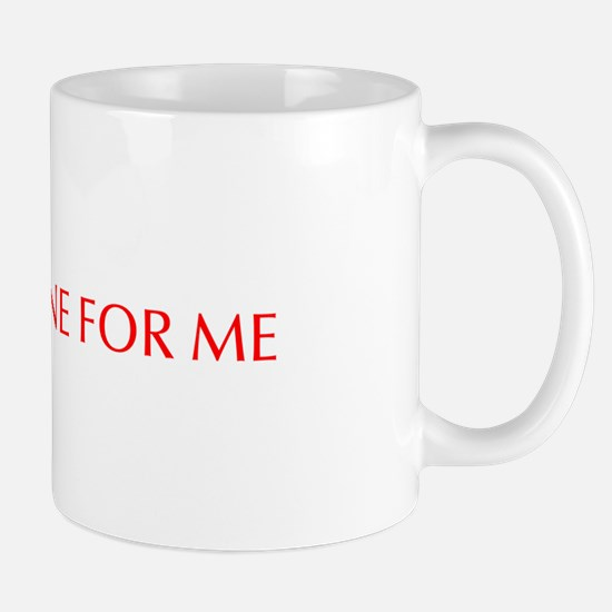 Yoda one for me-Opt red 550 Mugs