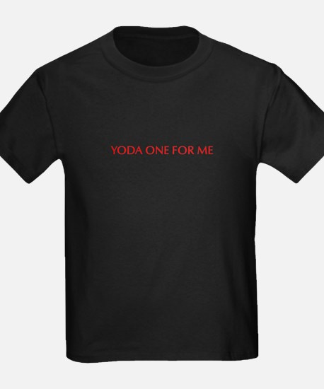 Yoda one for me-Opt red 550 T-Shirt