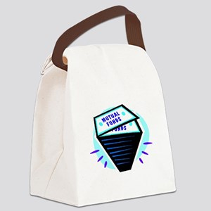 Mutual Funds Canvas Lunch Bag