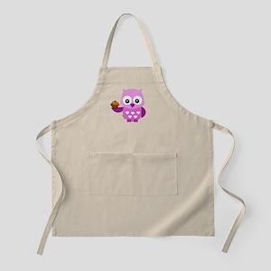 Pink Pretty Owl Apron