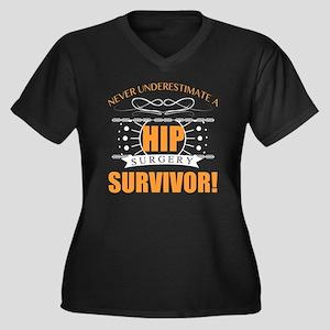 Hip Surgery Survivor Plus Size T-Shirt