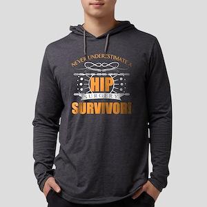 Hip Surgery Survivor Long Sleeve T-Shirt