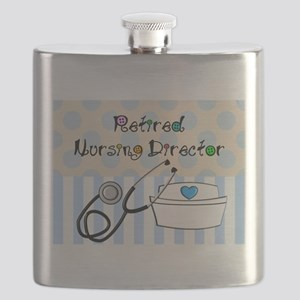 Retired Nursing Director Flask