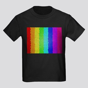 Rainbow colored stained glass T-Shirt