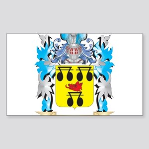 Rosi Coat of Arms - Family Crest Sticker