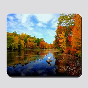 Connecticut Fall Colors Mousepad
