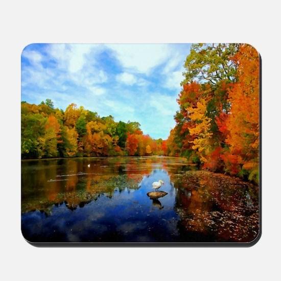 Connecticut Fall Colors Mousepad