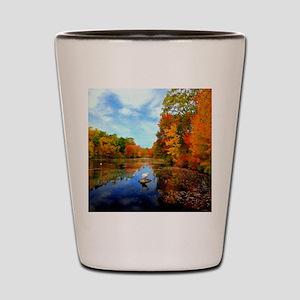 Connecticut Fall Colors Shot Glass