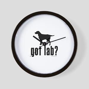 got lab? Wall Clock
