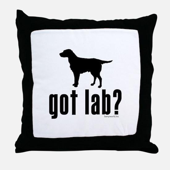 got lab? Throw Pillow