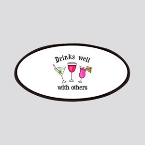 DRINKS WELL WITH OTHERS Patch