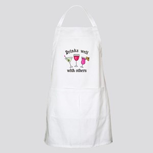 DRINKS WELL WITH OTHERS Apron