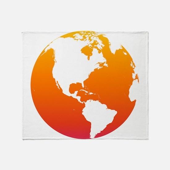 The Earth Throw Blanket