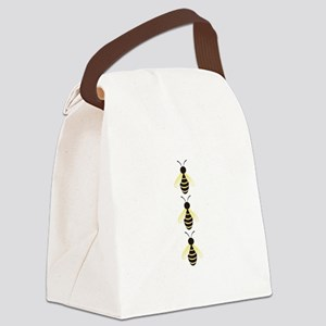 BUMBLEBEE BORDER Canvas Lunch Bag