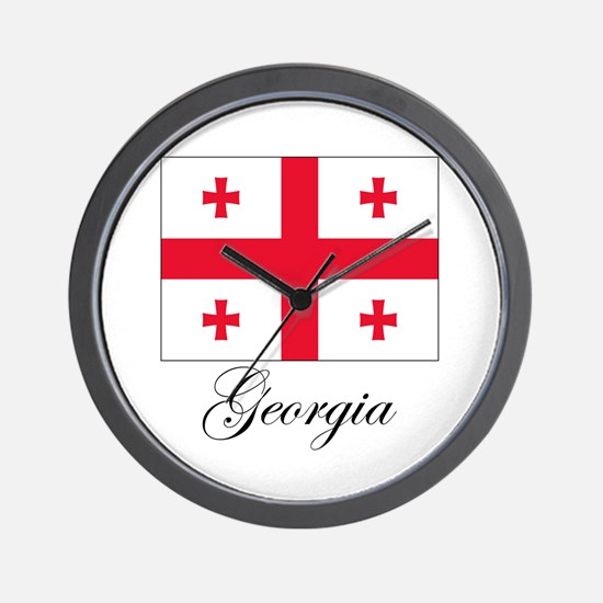 Georgia - Flag Wall Clock