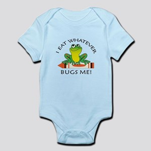 I EAT WHATEVER BUGS ME Body Suit