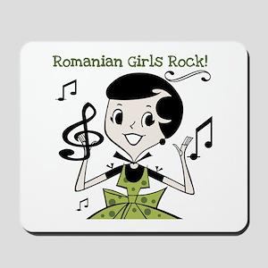 Romanian Girls Rock Mousepad