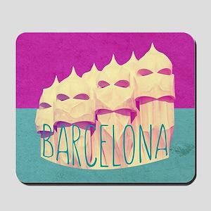 Barcelona Gaudi Paradise Mousepad
