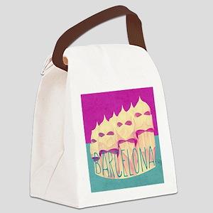Barcelona Gaudi Paradise Canvas Lunch Bag