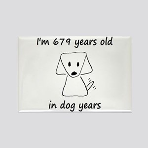 97 dog years 6 - 2 Magnets