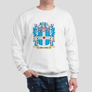 Ryland Coat of Arms - Family Crest Sweatshirt